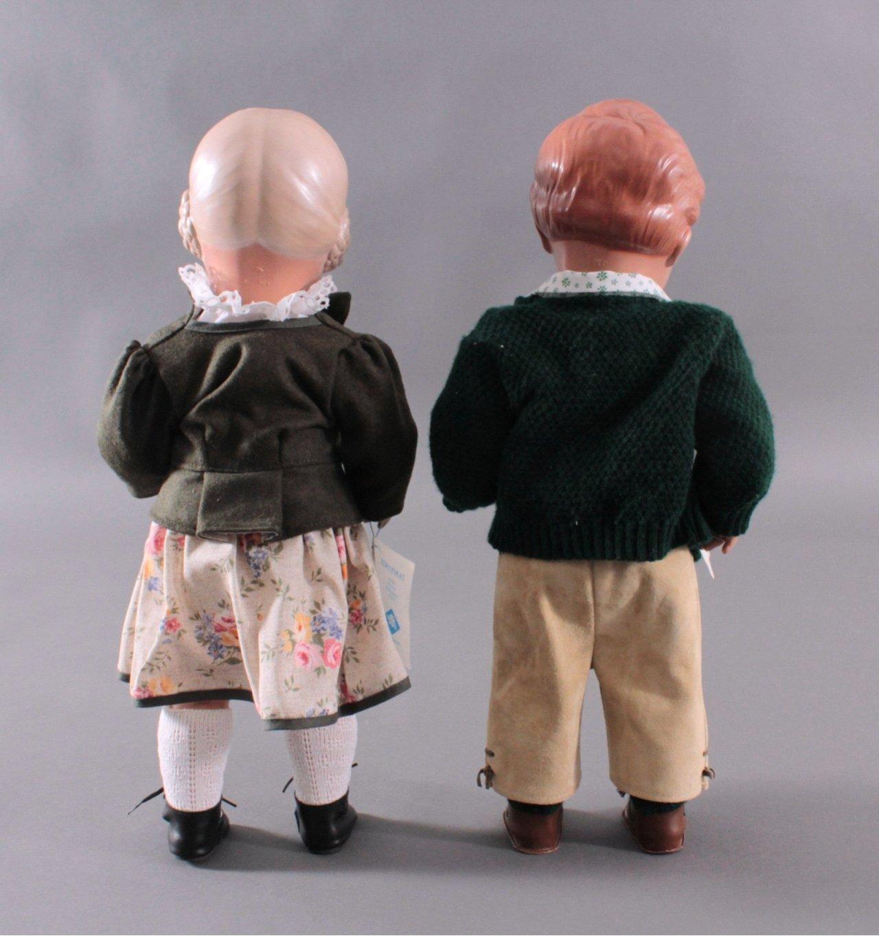Schildkröt Puppenpaar Bärbel und Hans-2