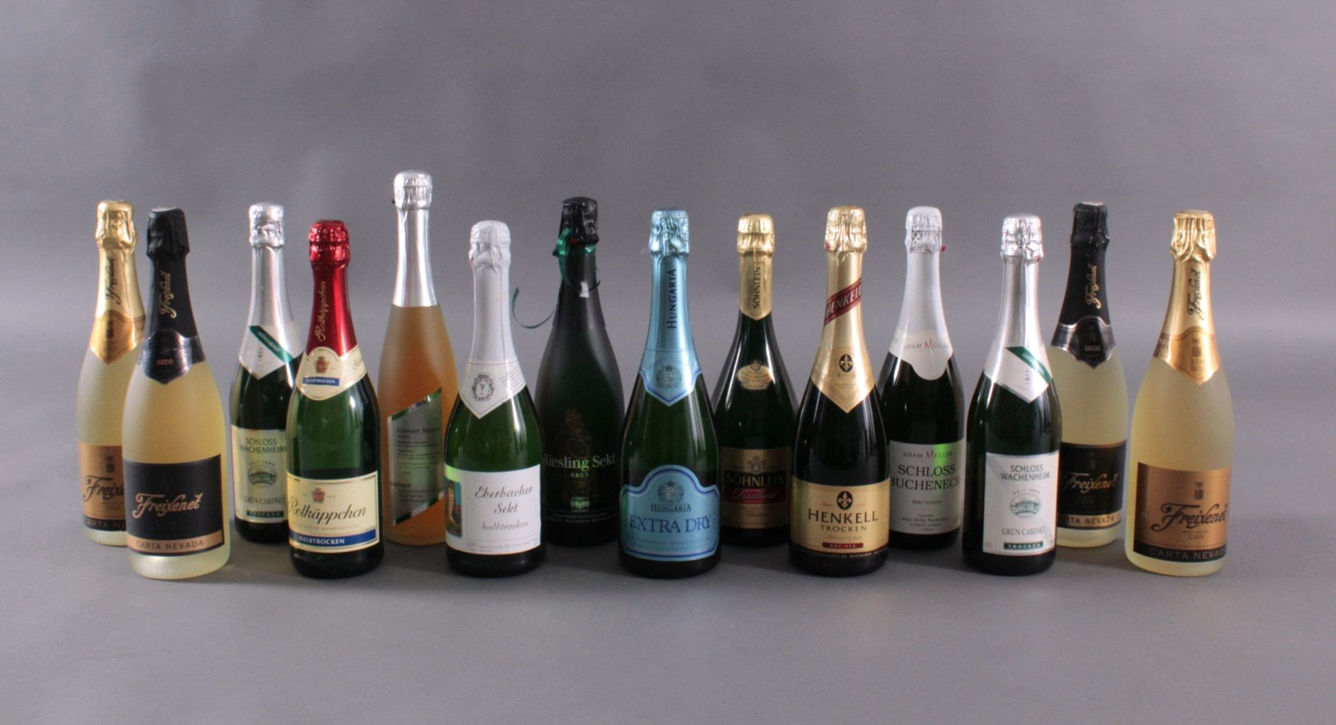 14 Flaschen Sekt