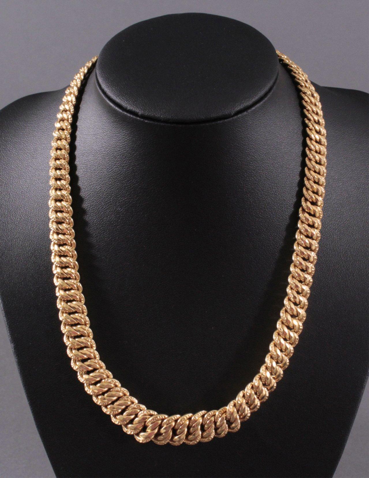 Colliere 750/000 Gelb Gold