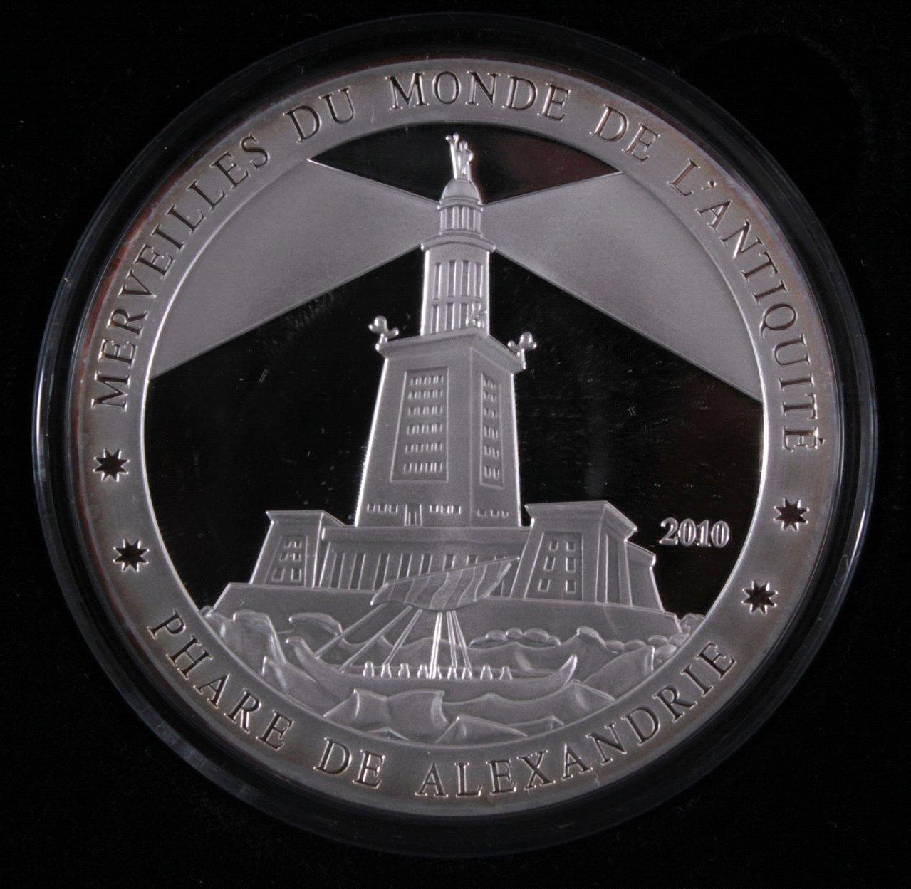 Elfenbeinküste, 1500 France 2010, die sieben Weltwunder