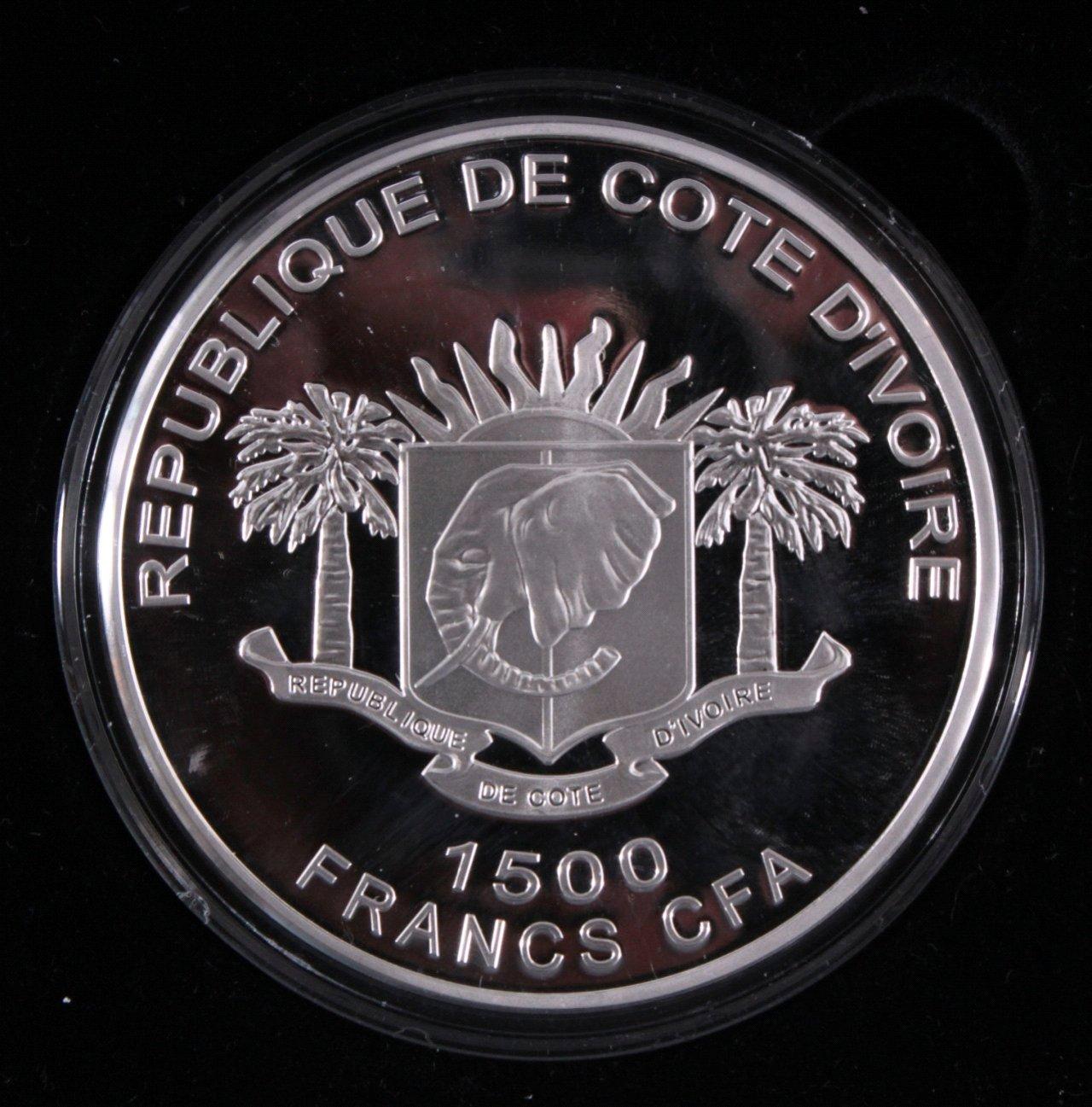 Elfenbeinküste, 1500 France 2010, die sieben Weltwunder-1