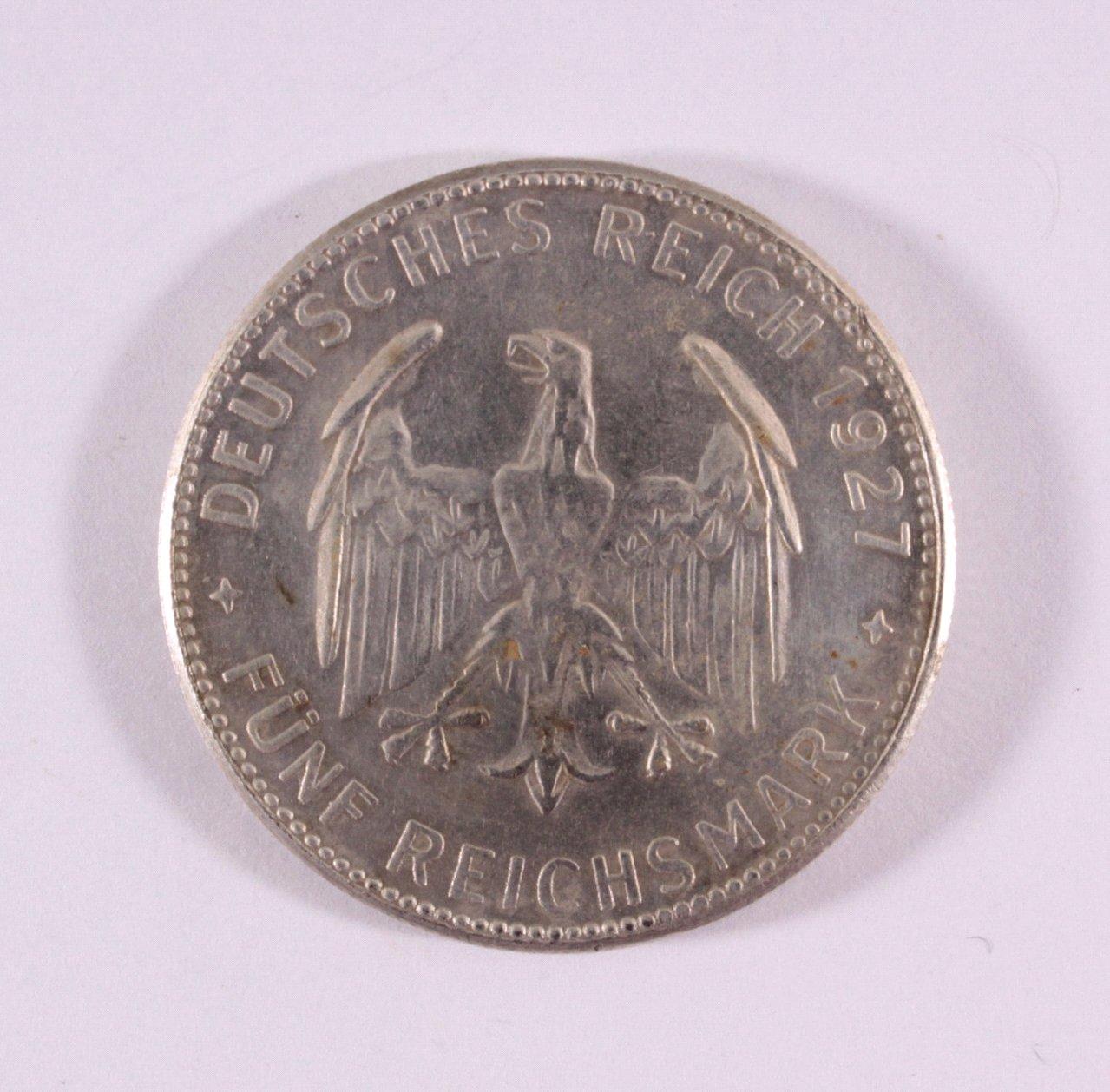 5 Reichsmark 1927 F-1
