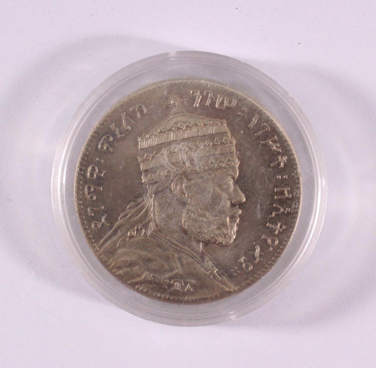 Äthiopien, 1 Birr um 1900