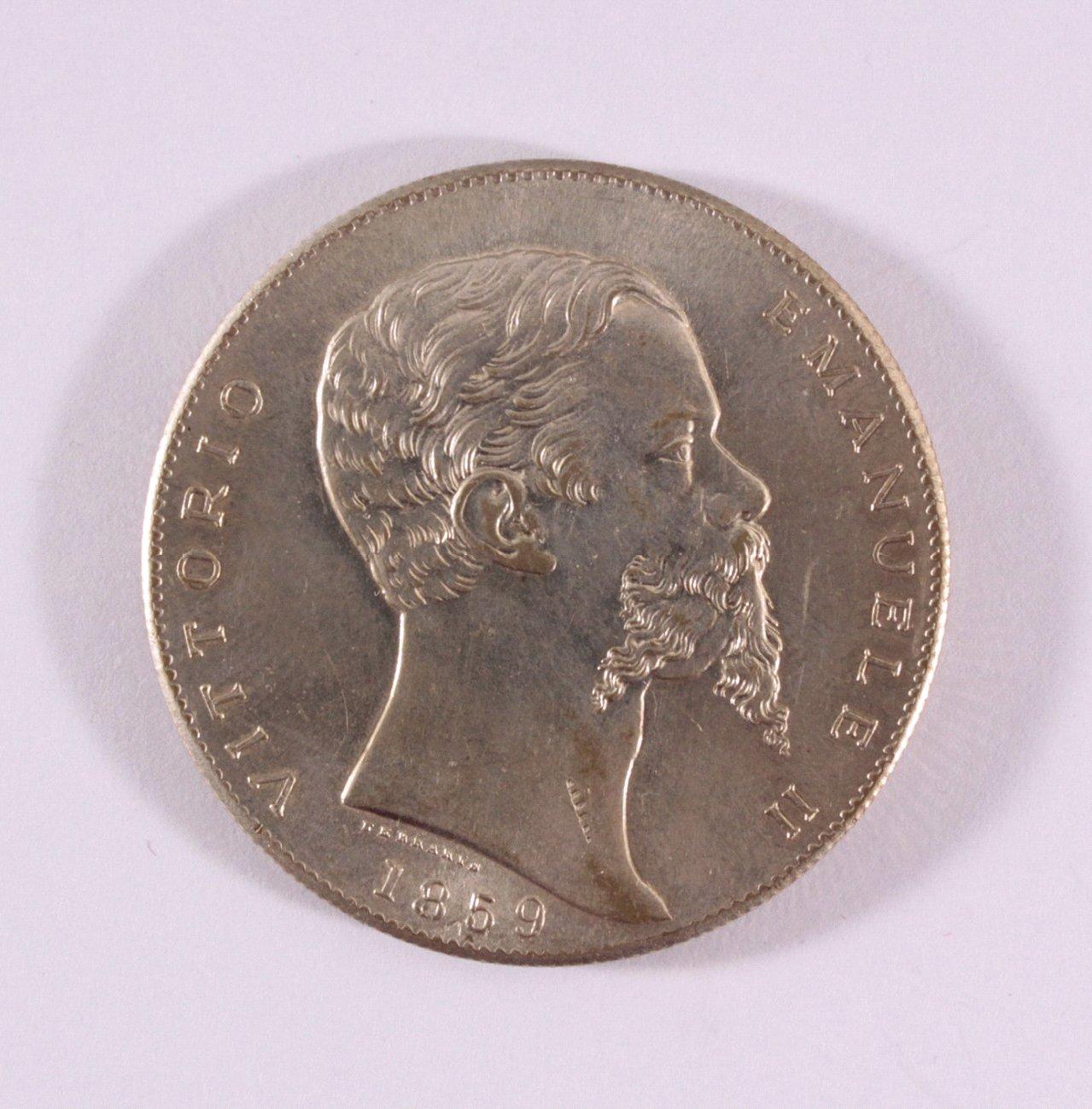 Italien, Victor Emanuel II., 5 Lire 1859