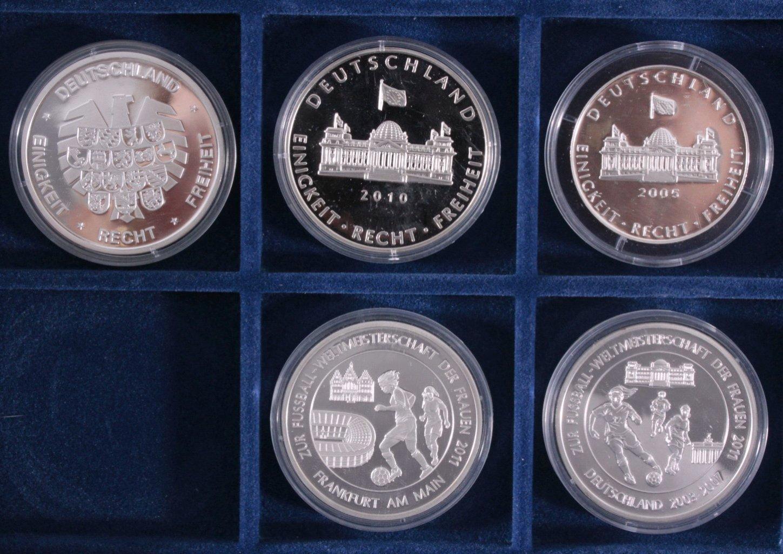 Konvolut Silbermünzen und Medaillen-2