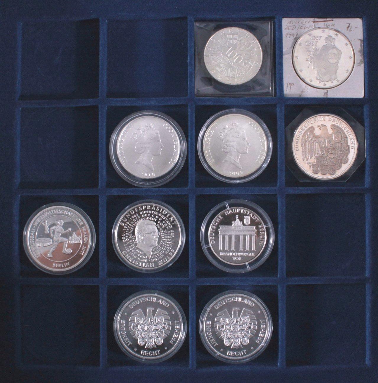 Konvolut Silbermünzen und Medaillen-3