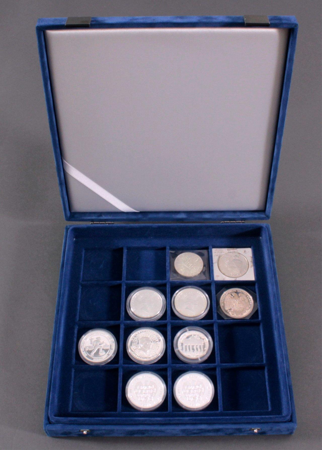 Konvolut Silbermünzen und Medaillen-6