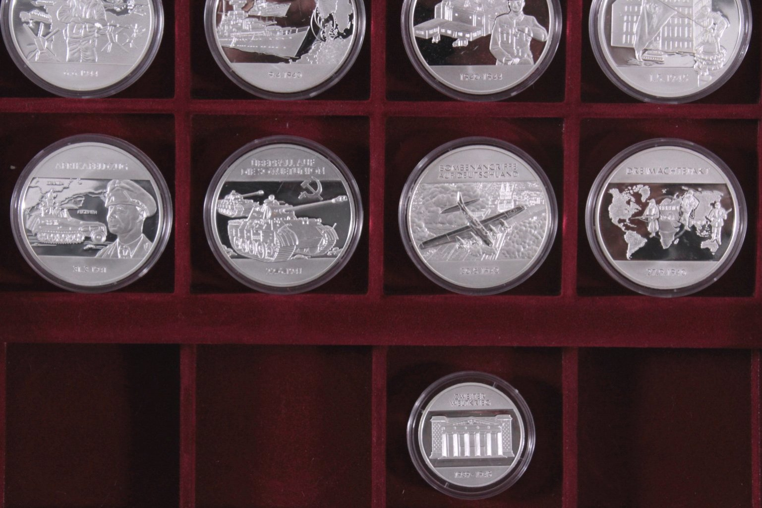 Sondergedenkprägungen zweiter Weltkrieg, Silber-2