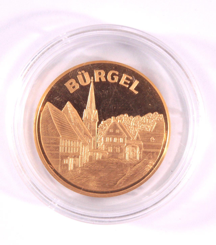 Goldmedaille Offenbach / Bürgel