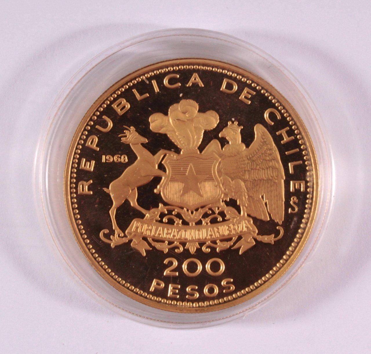 200 Pesos Chile 1968-1