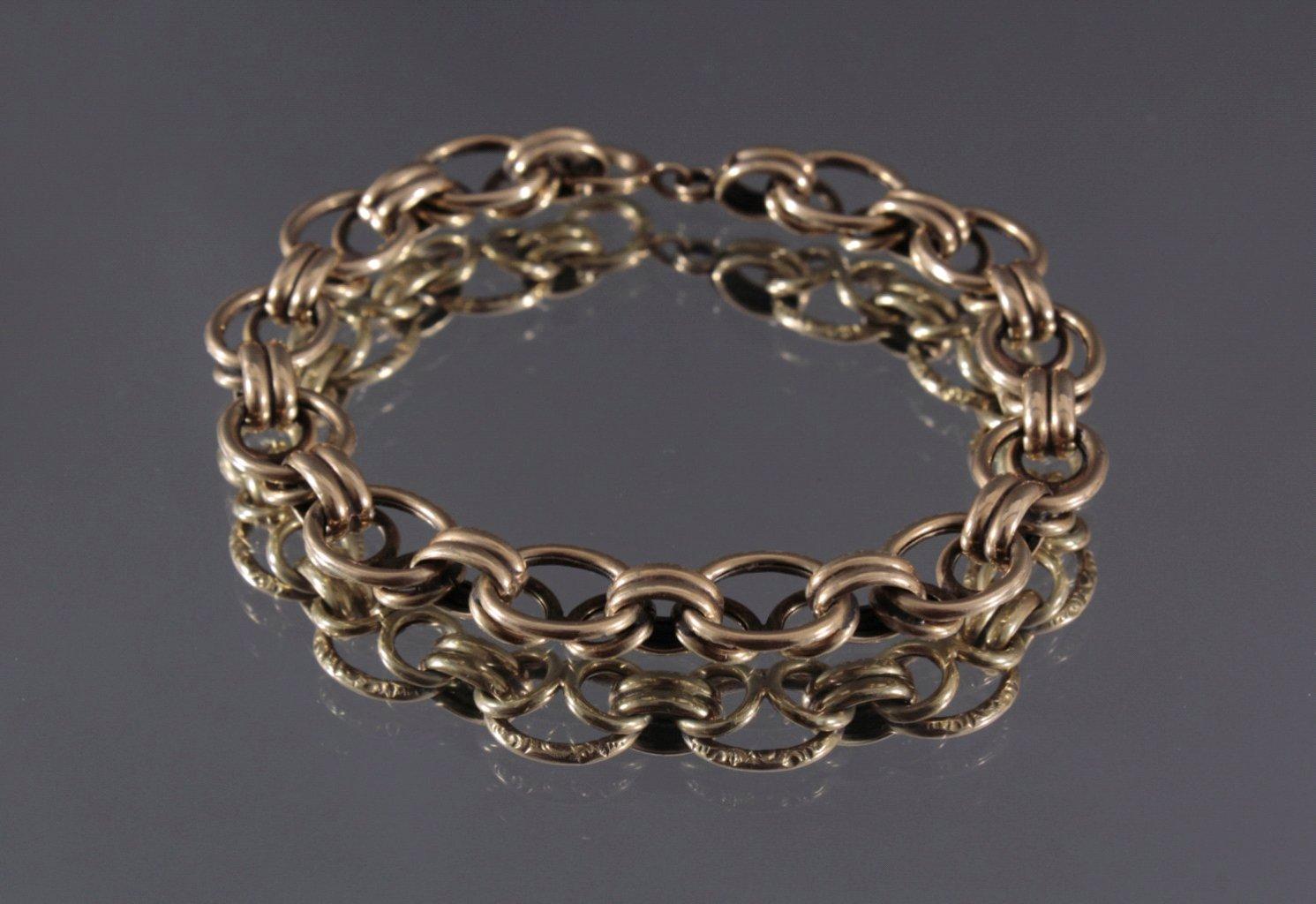 Damen Armband, 585/000 GG