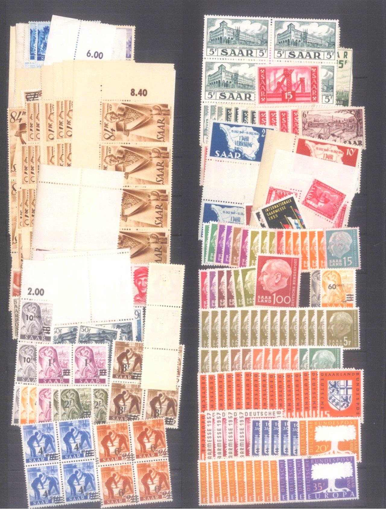 Briefmarken und Ganzsachennachlass