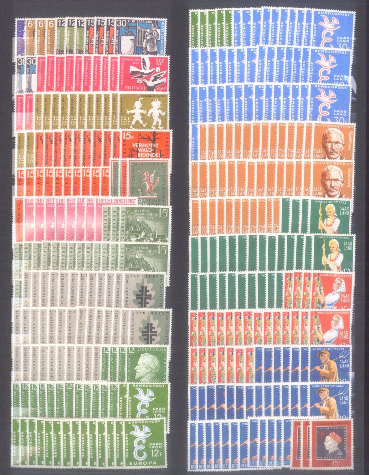 Briefmarken und Ganzsachennachlass-1