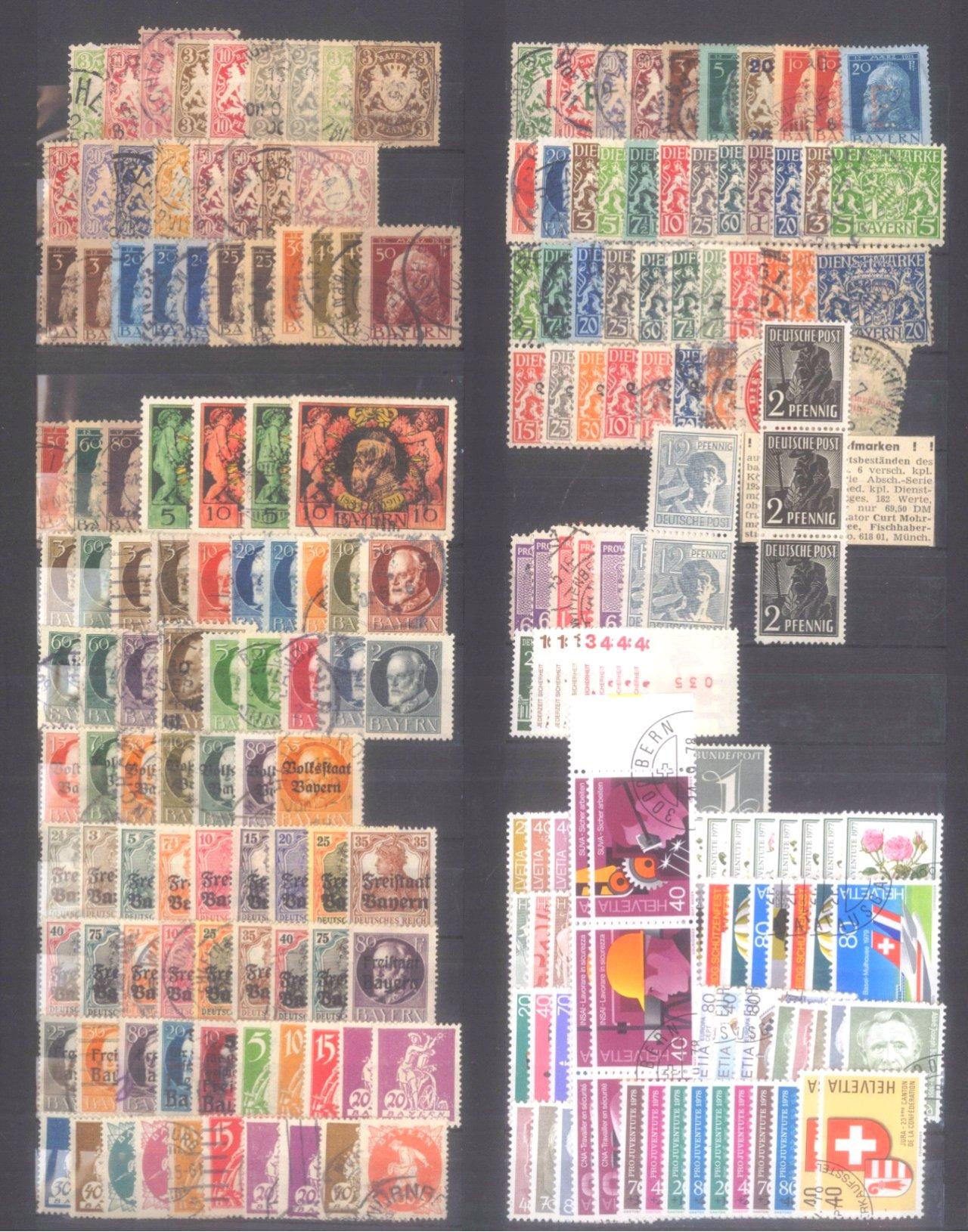 Briefmarken und Ganzsachennachlass-2