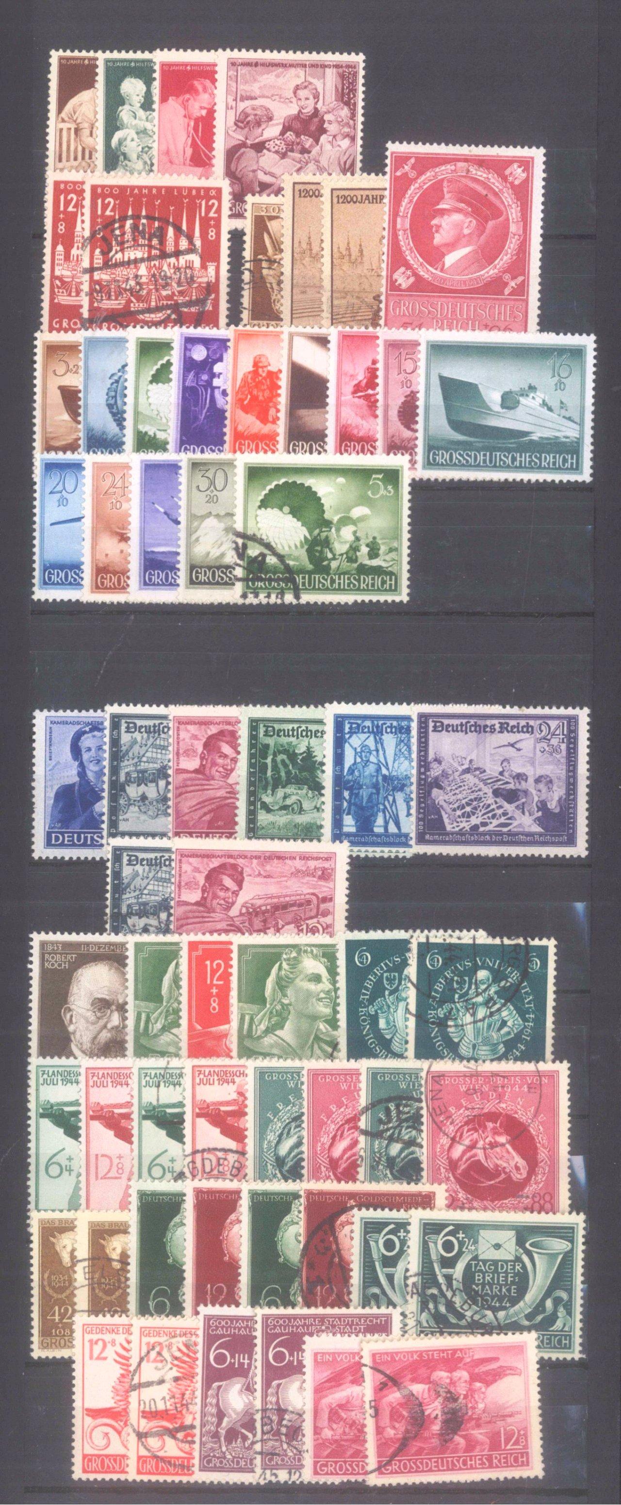 Briefmarken und Ganzsachennachlass-17