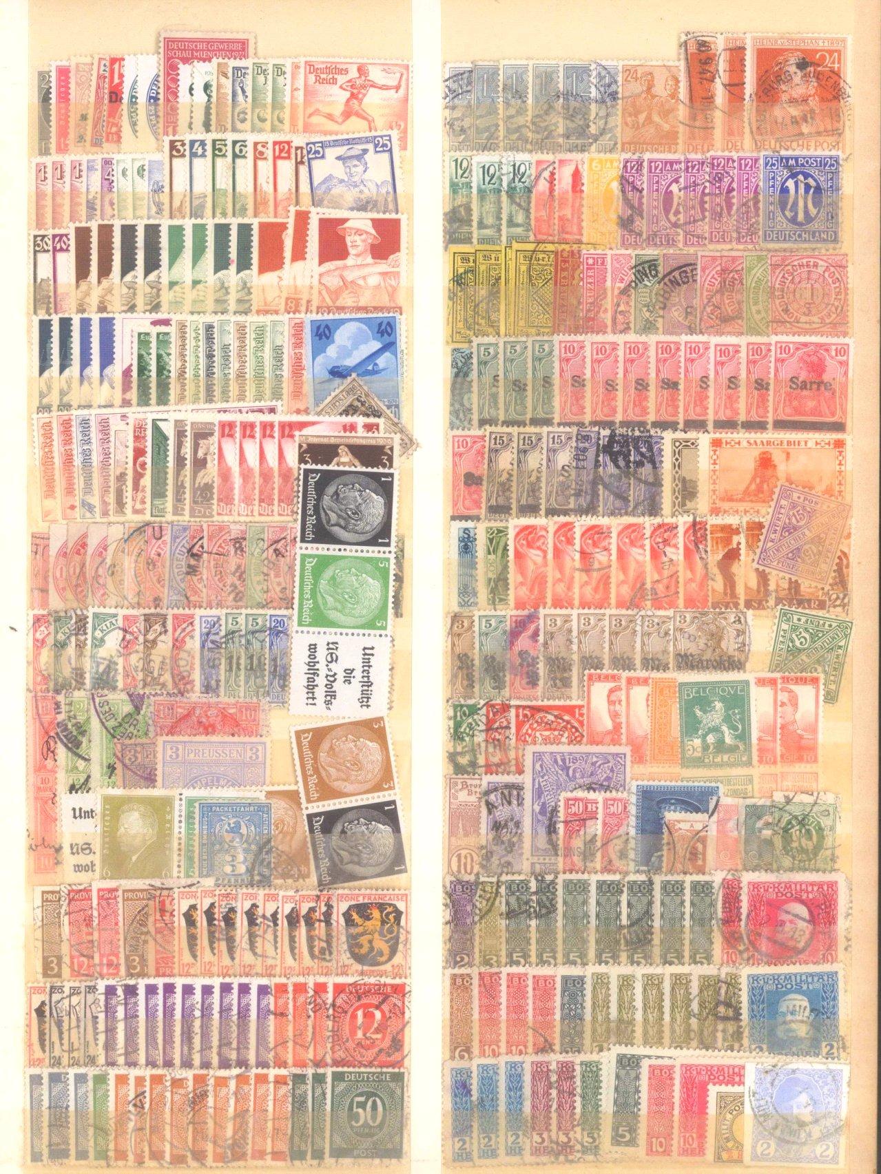 Briefmarken und Ganzsachennachlass-25