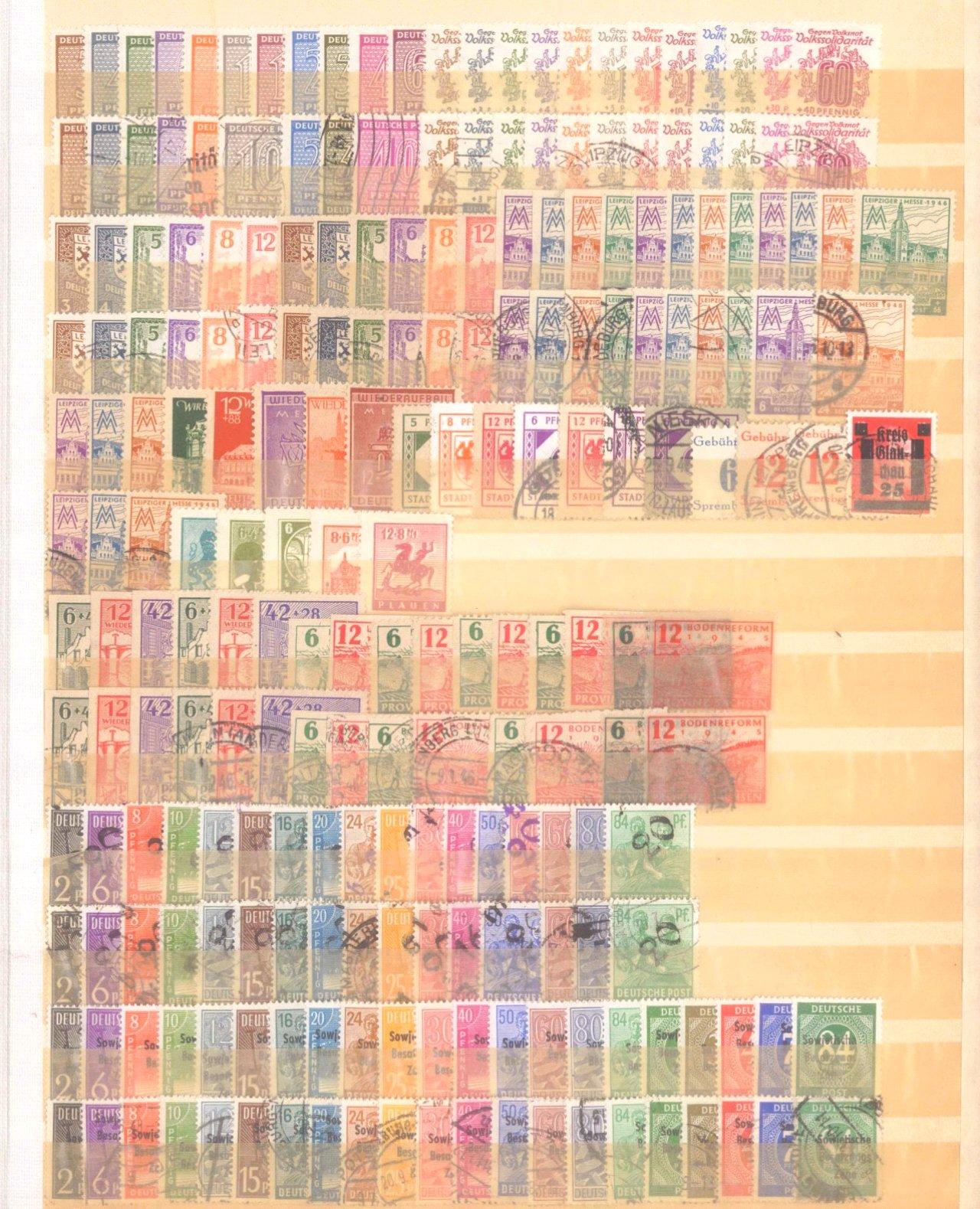 Briefmarken und Ganzsachennachlass-27