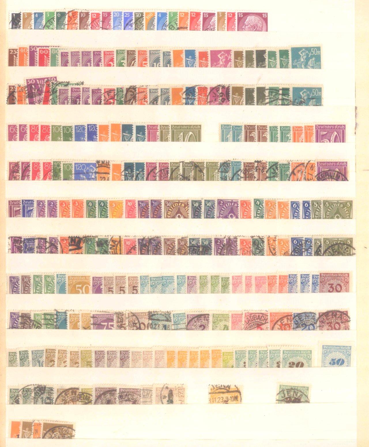 Briefmarken und Ganzsachennachlass-29