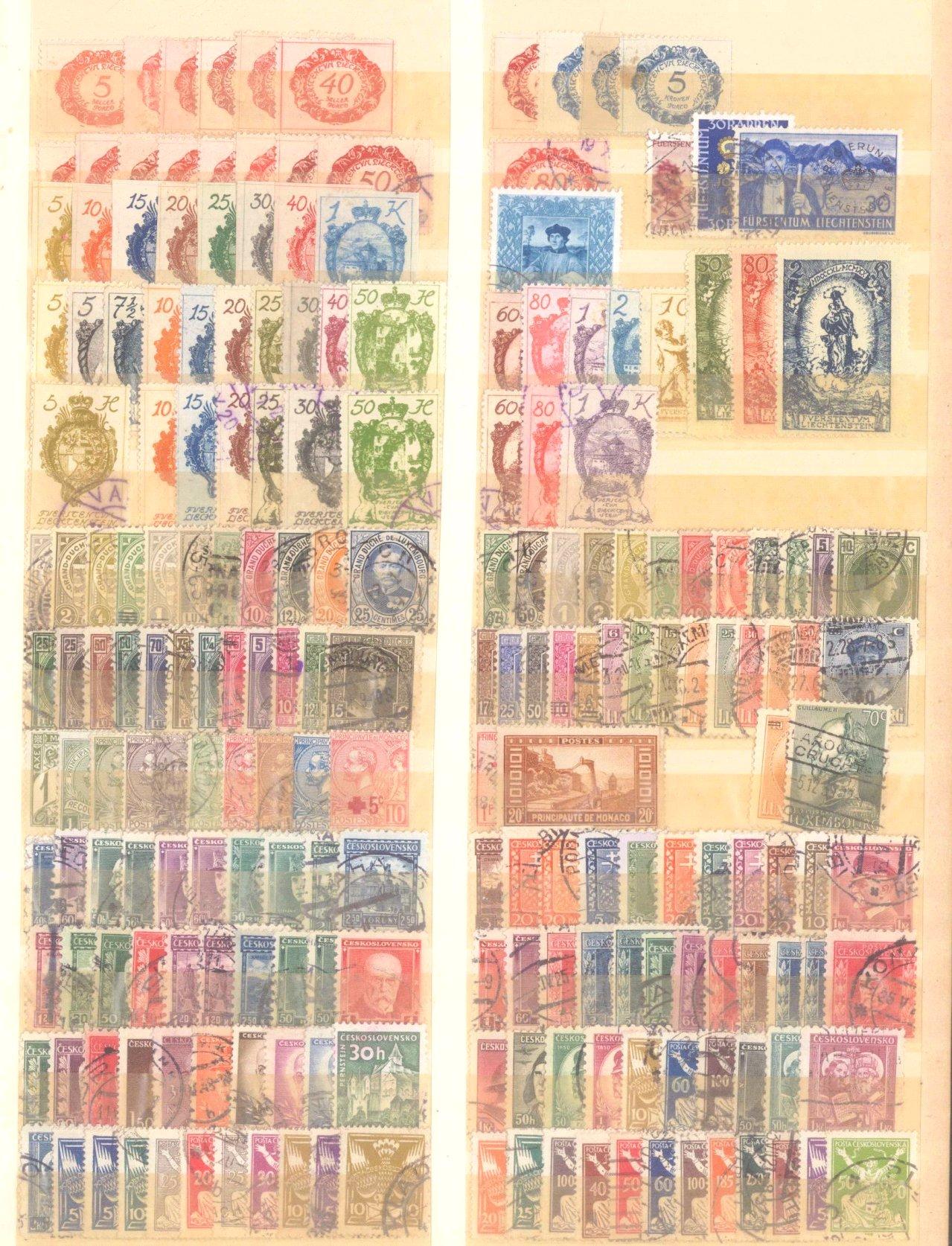 Briefmarken und Ganzsachennachlass-30