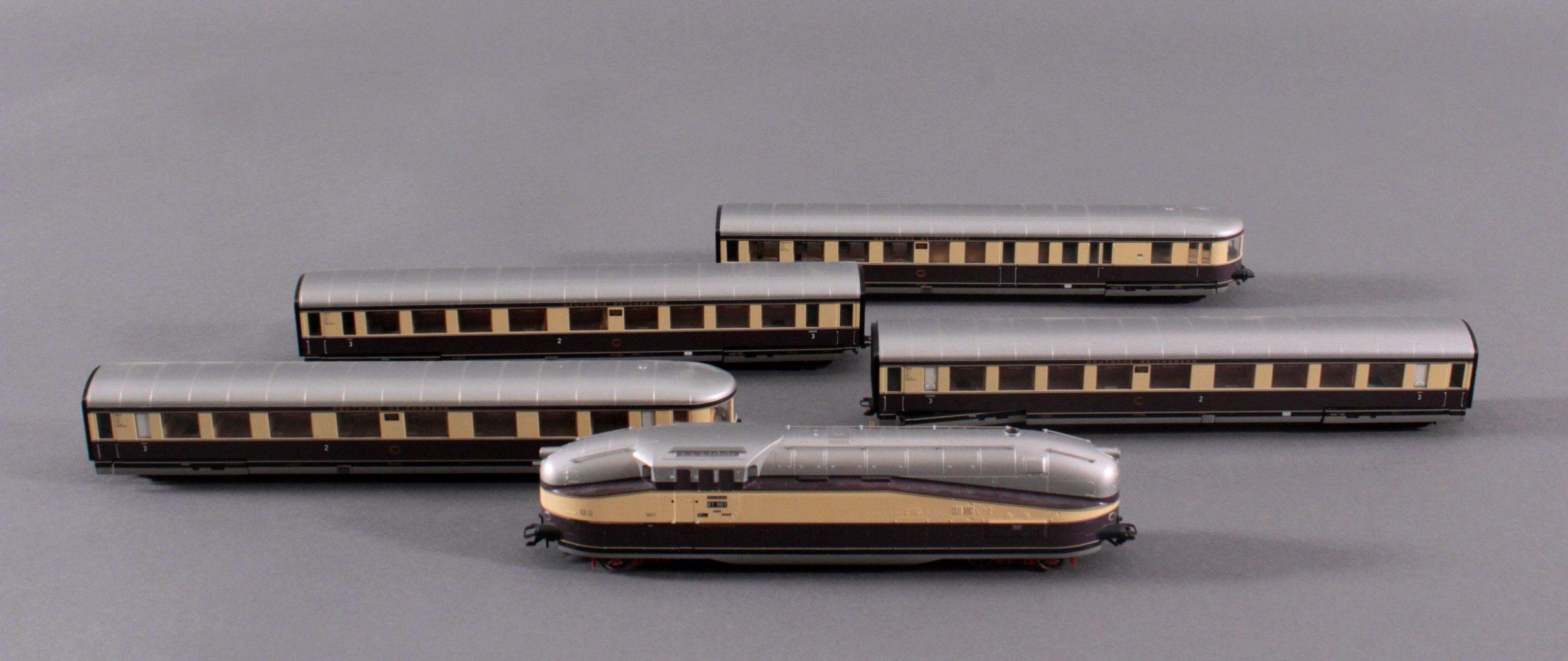 Dampflok 61 001 Deutsche Rechsbahn Spur H0