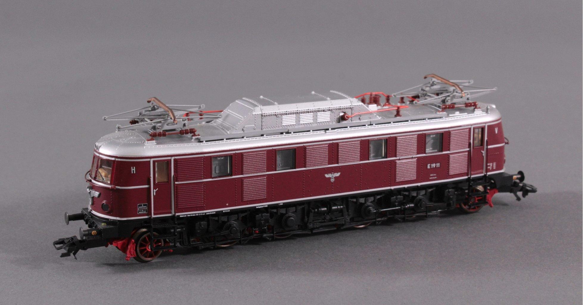 Märklin H0 E-Lok 1911 in rot-1