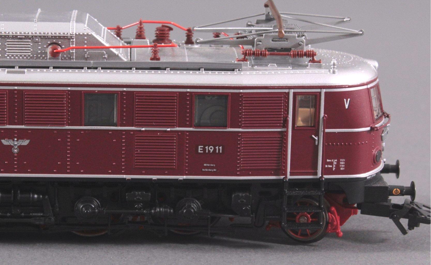 Märklin H0 E-Lok 1911 in rot-2