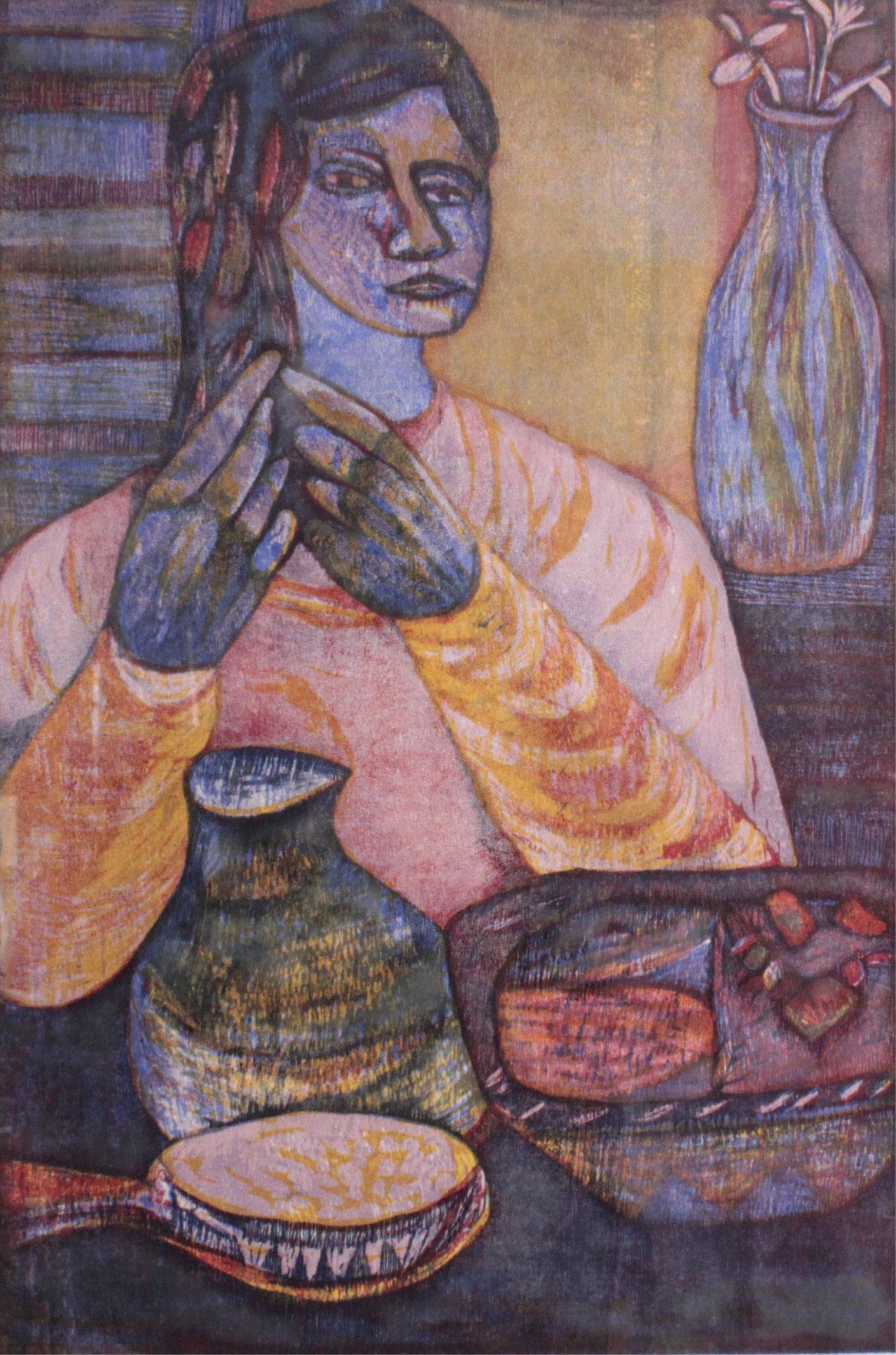 """Esteban Fekete 1924-2009 """"Prueba del Artista""""-1"""
