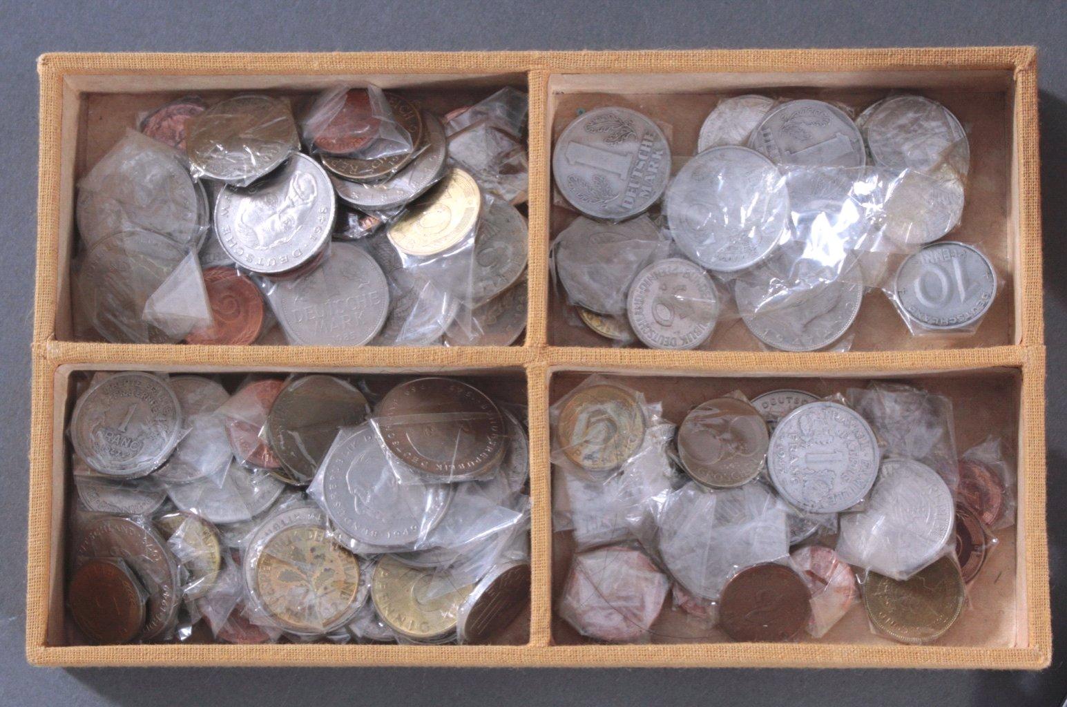 Münzkonvolut mit hohen DM Anteil-1