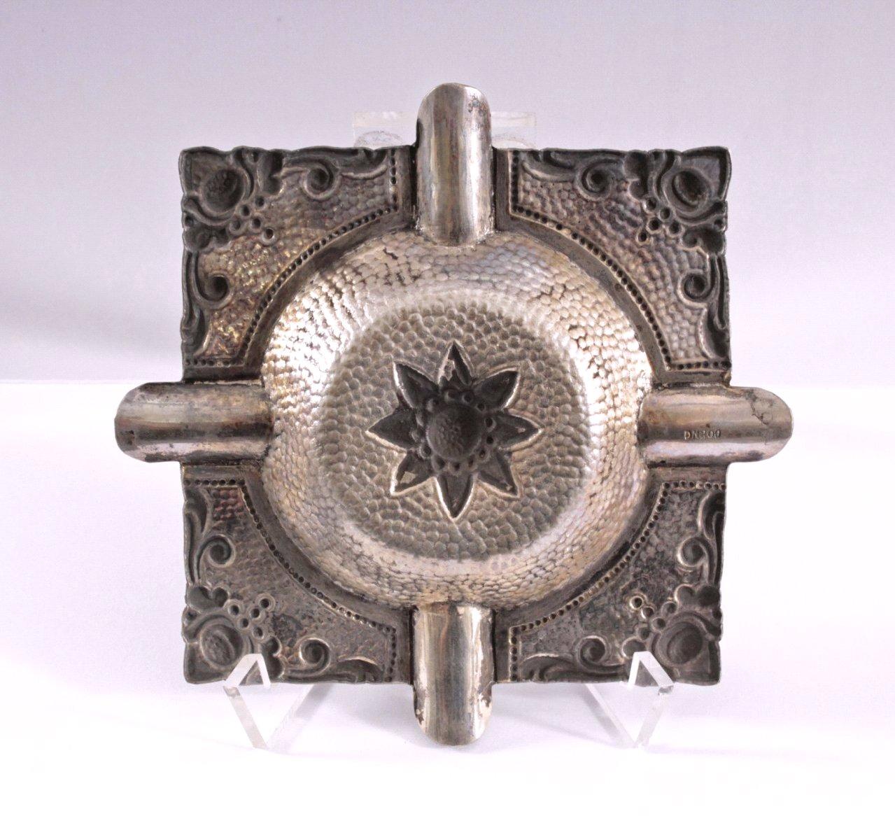 Aschenbecher, 800er Silber-1