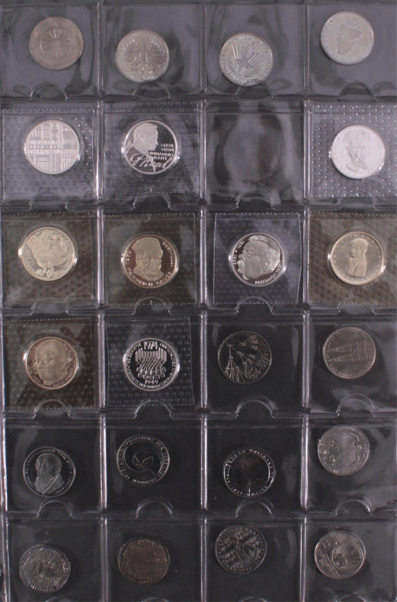 Kleine Sammlung 5 DM Münzen-5