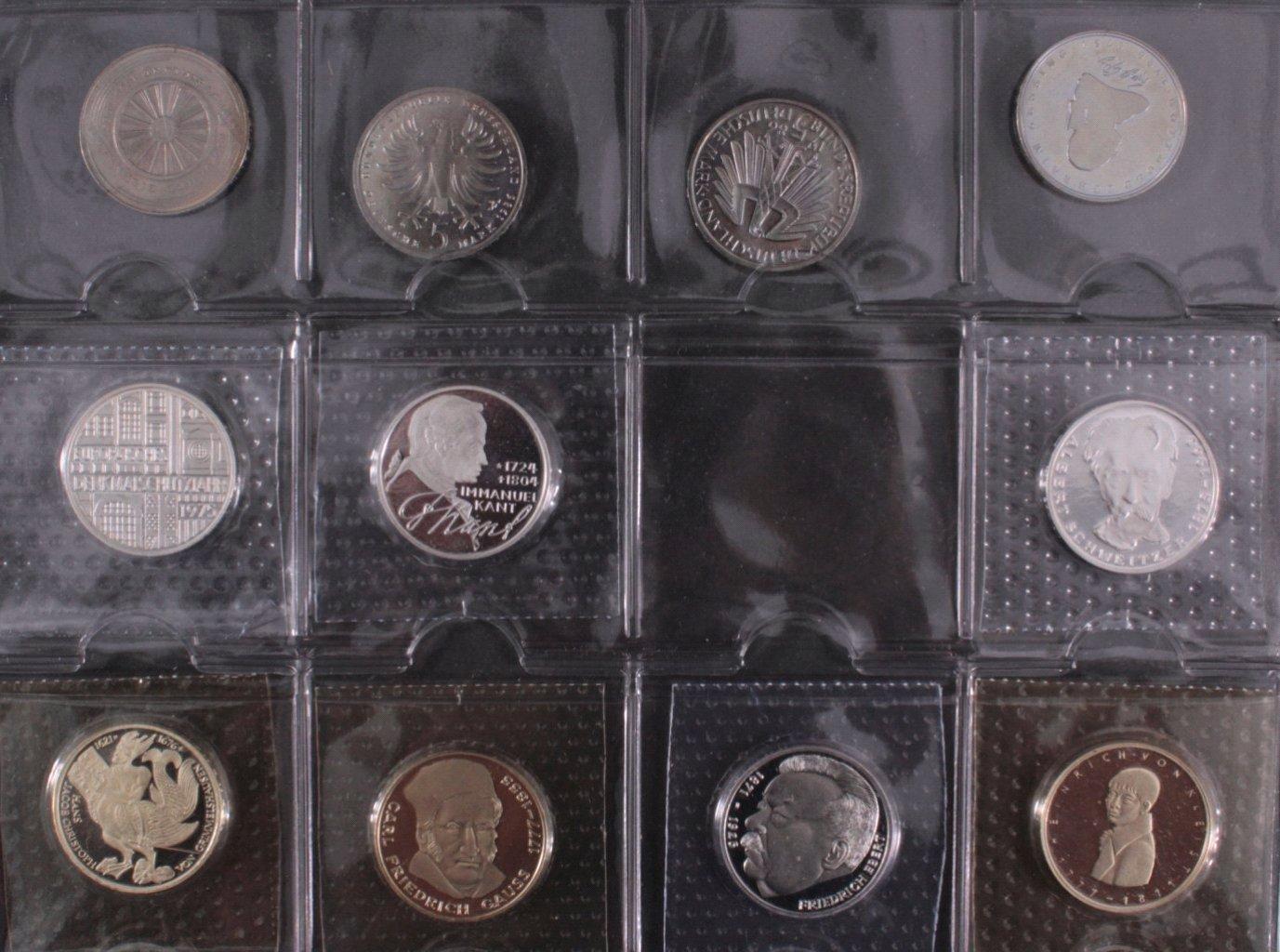 Kleine Sammlung 5 DM Münzen-6