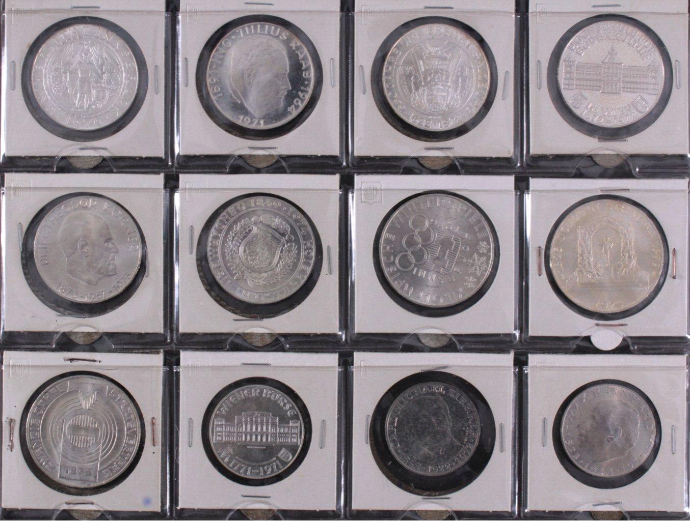 Kleine Sammlung Schilling Münzen-1