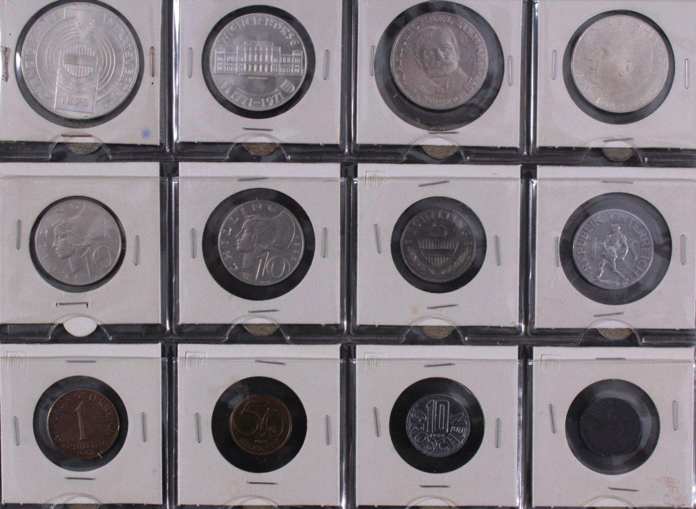 Kleine Sammlung Schilling Münzen-2