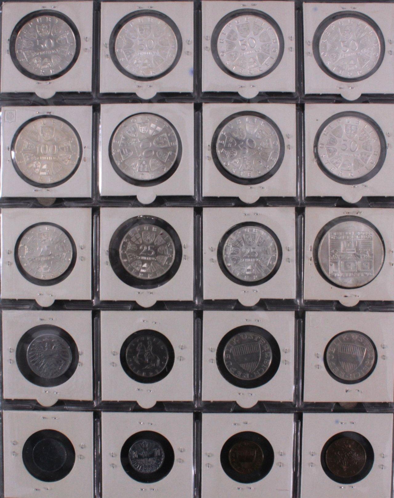 Kleine Sammlung Schilling Münzen-3
