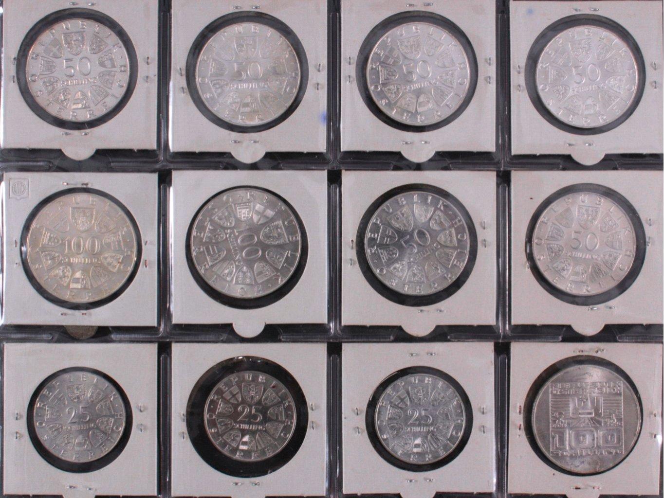 Kleine Sammlung Schilling Münzen-4