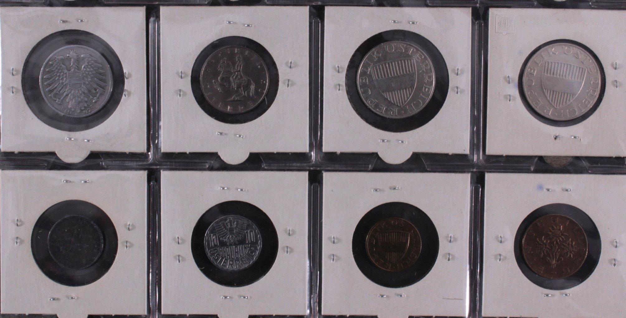 Kleine Sammlung Schilling Münzen-5