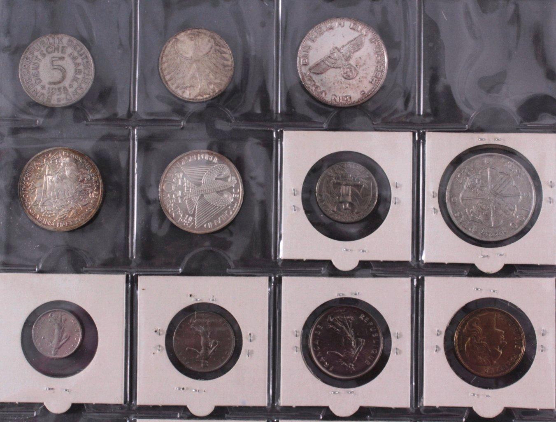 Kleines Konvolut Münzen, Deutsches Reich, BRD, Frankreich…-4