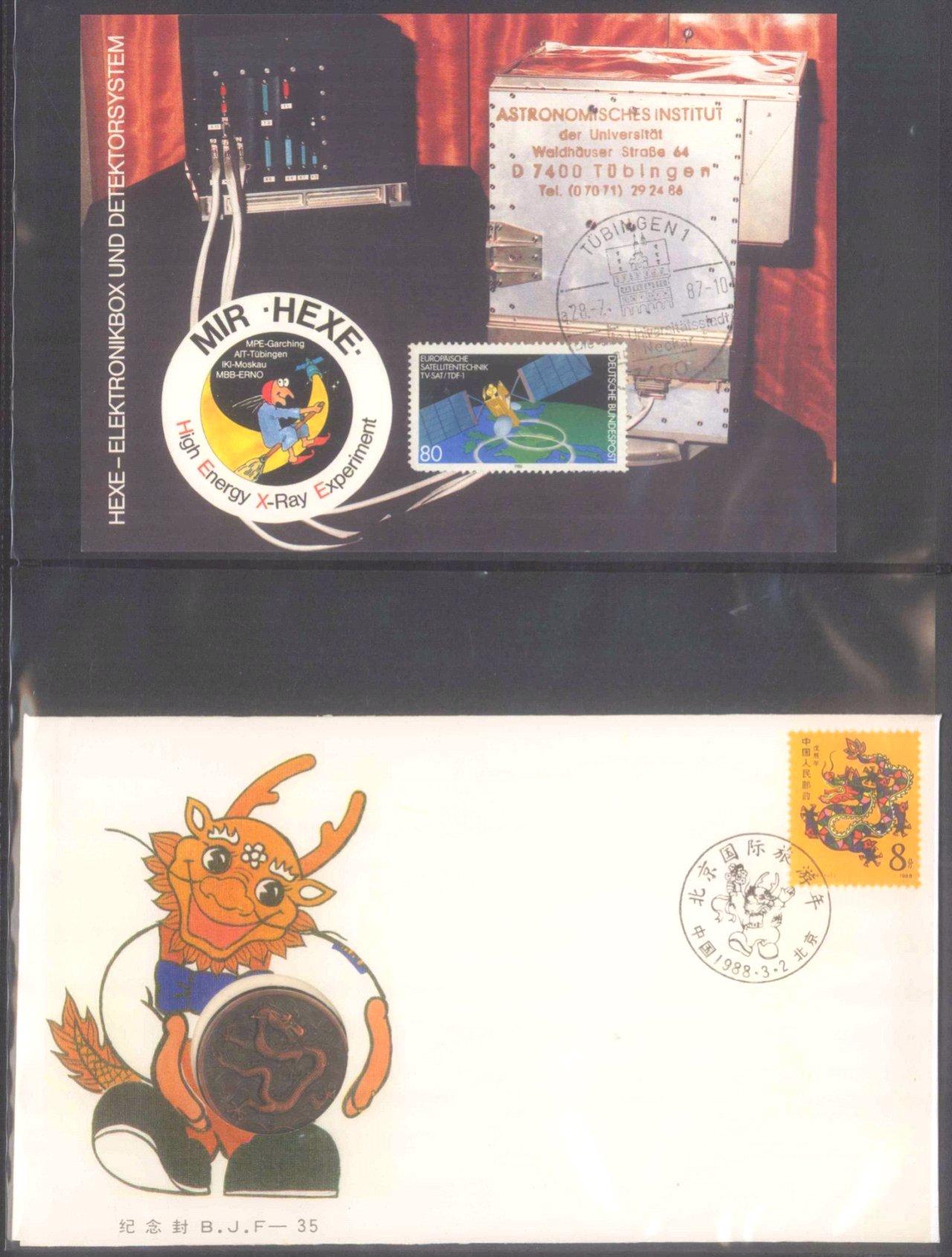 Münz- und Briefmarkennachlass