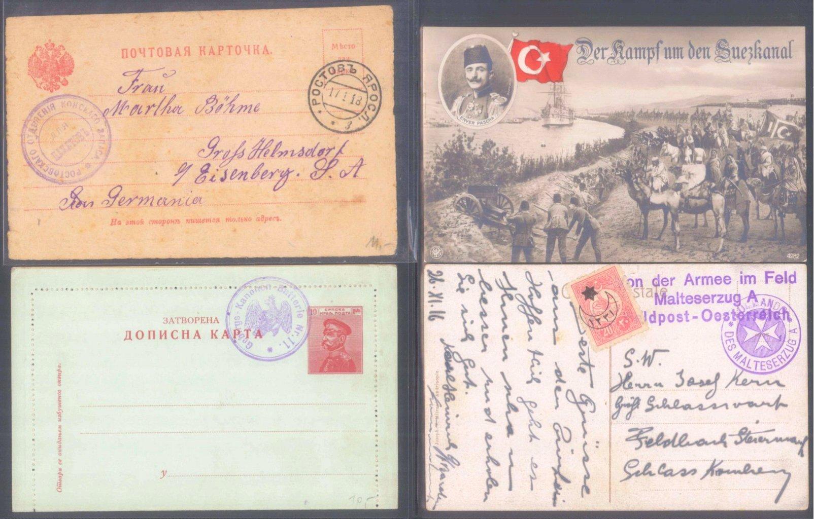 Sammlungsauflösung, Feldpost des ersten Weltkrieges-3