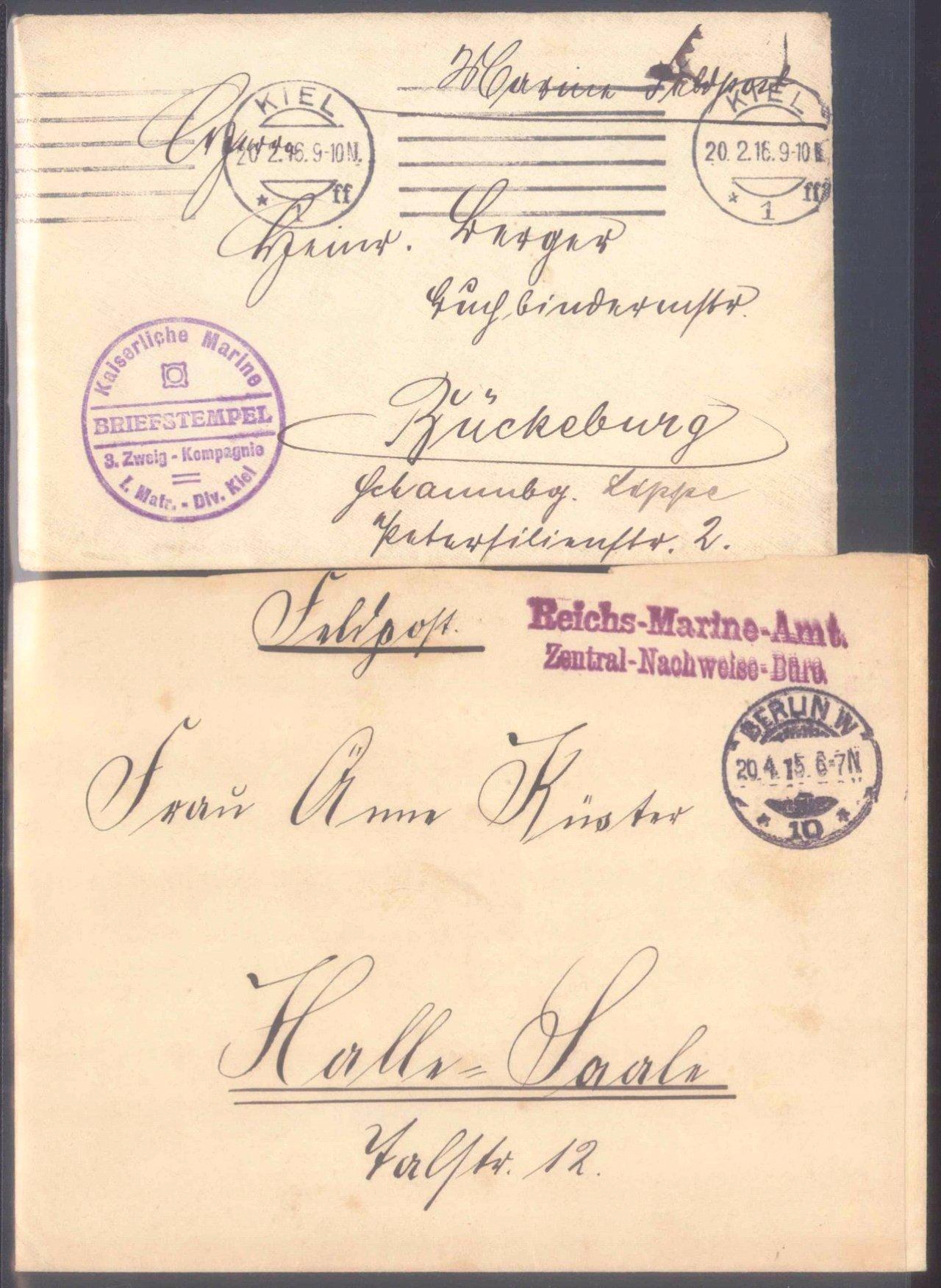 Sammlungsauflösung, Feldpost des ersten Weltkrieges-7
