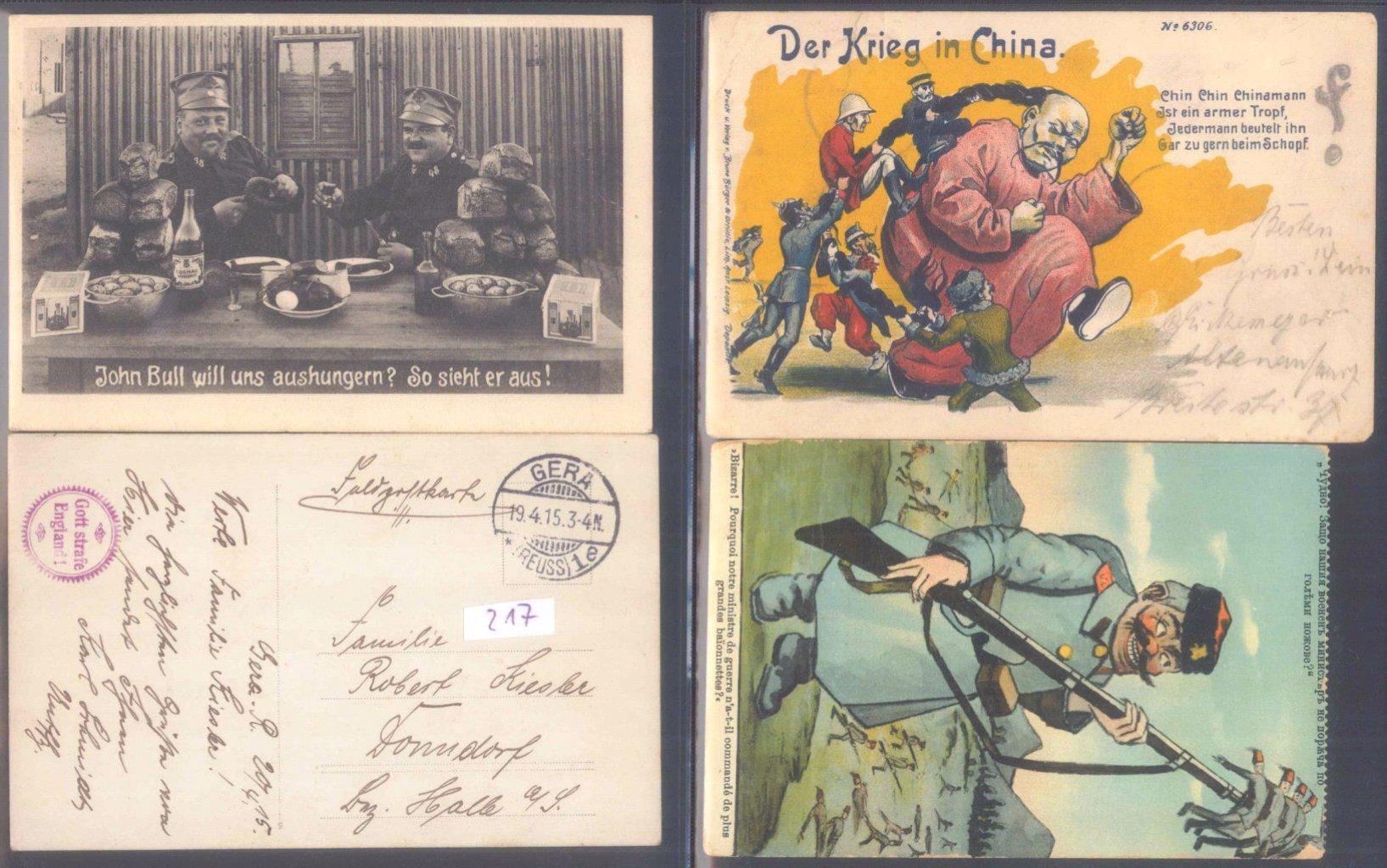 Sammlungsauflösung, Feldpost des ersten Weltkrieges-10