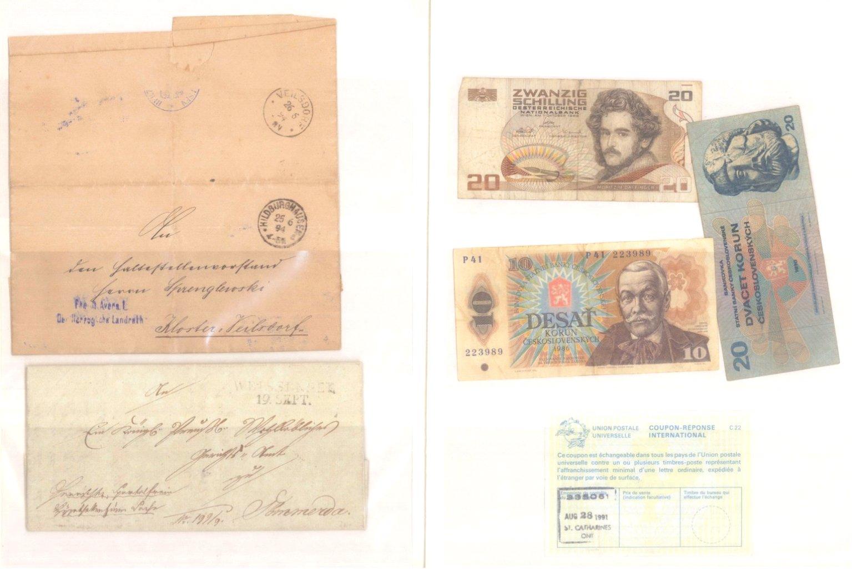 Banknoten, Notgeld, Belege-10