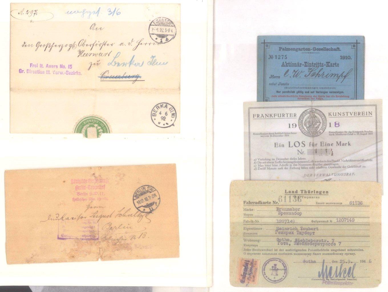 Banknoten, Notgeld, Belege-13