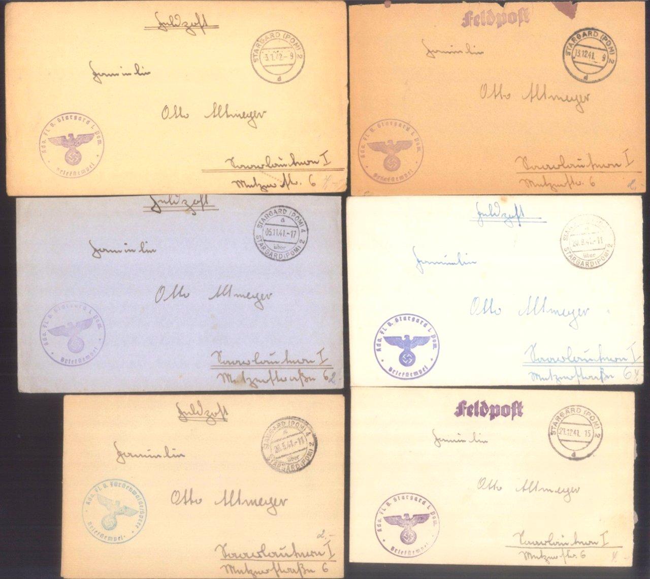 Ca. 70 Belege Feldpost und Kriegsgefangenenpost WK II-5