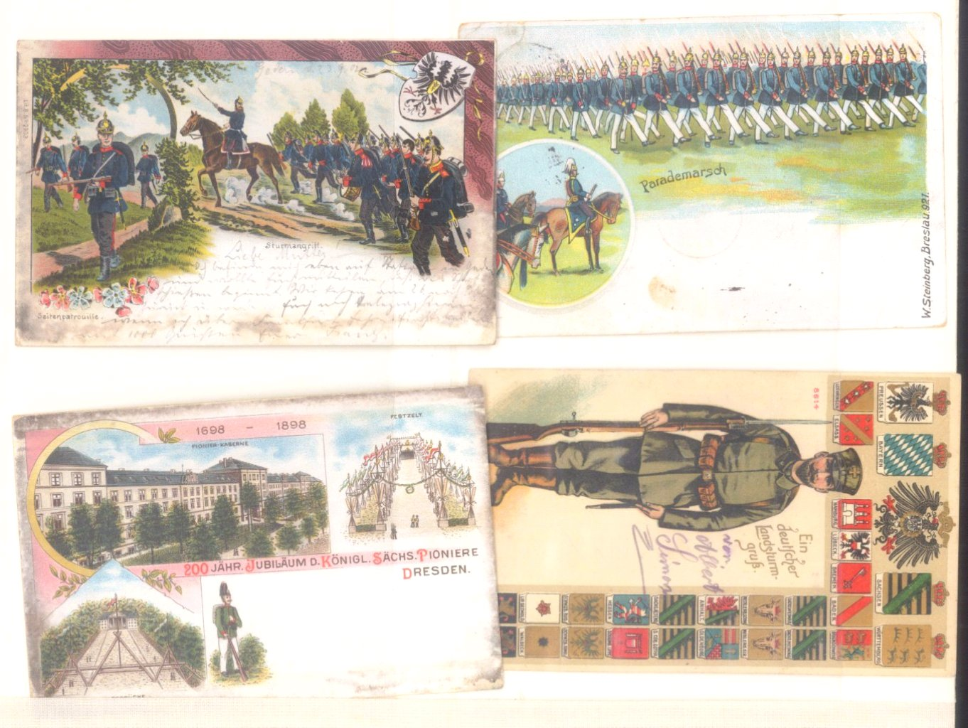 Postkartenalbum vor 1950