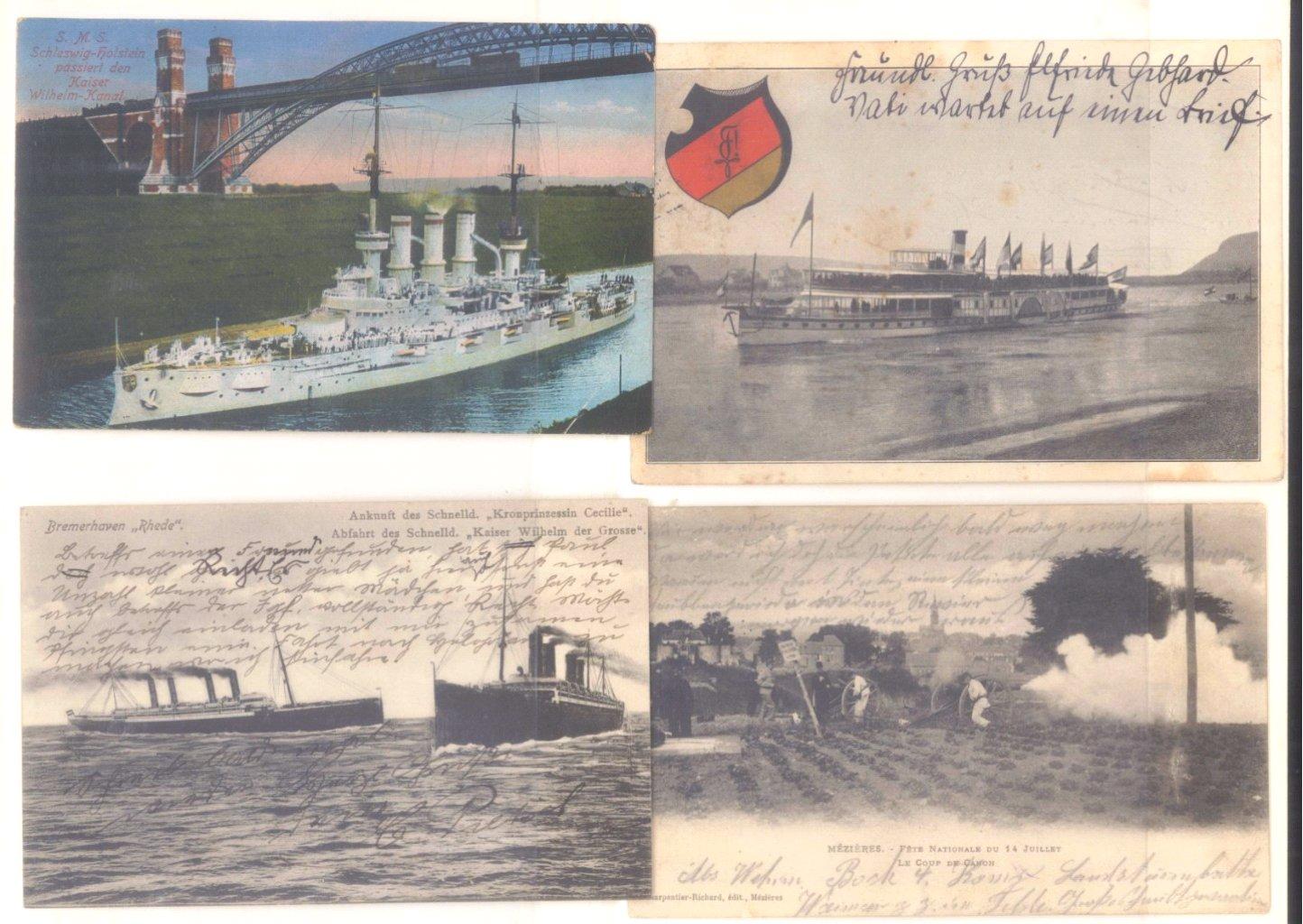 Postkartenalbum vor 1950-2
