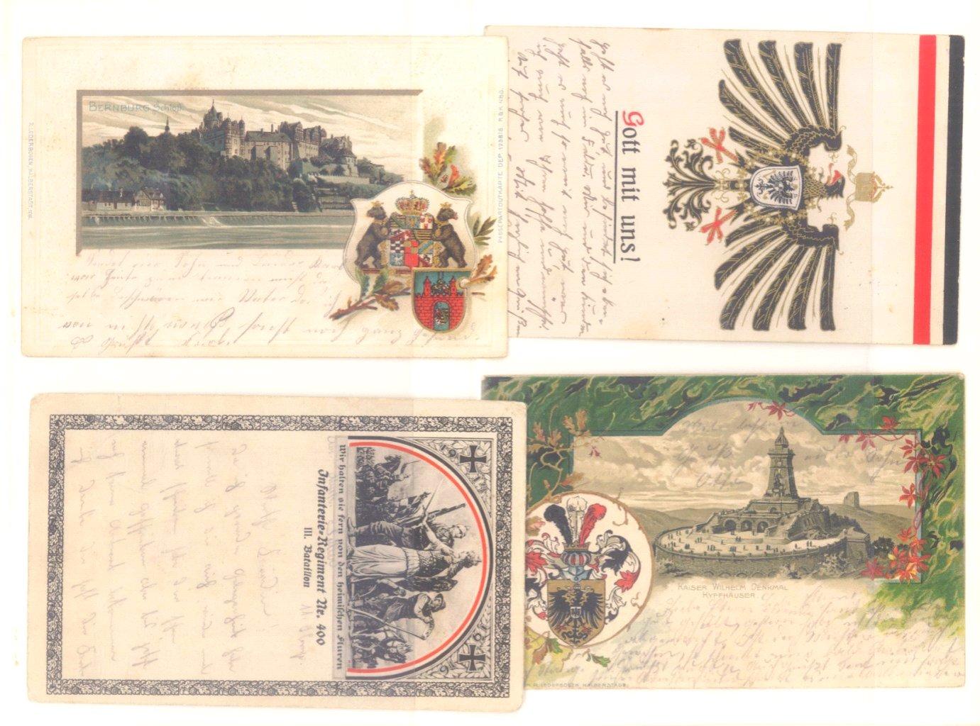 Postkartenalbum vor 1950-4