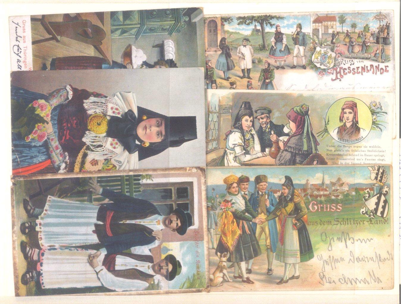 Postkartenalbum vor 1950-12
