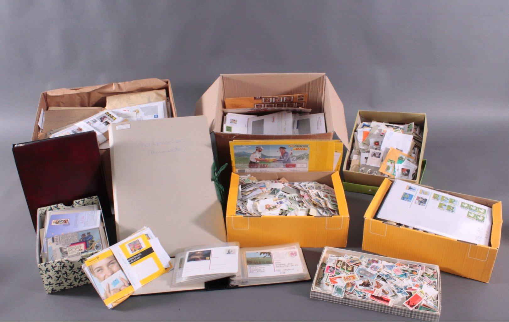 Briefmarken und Belege Nachlass