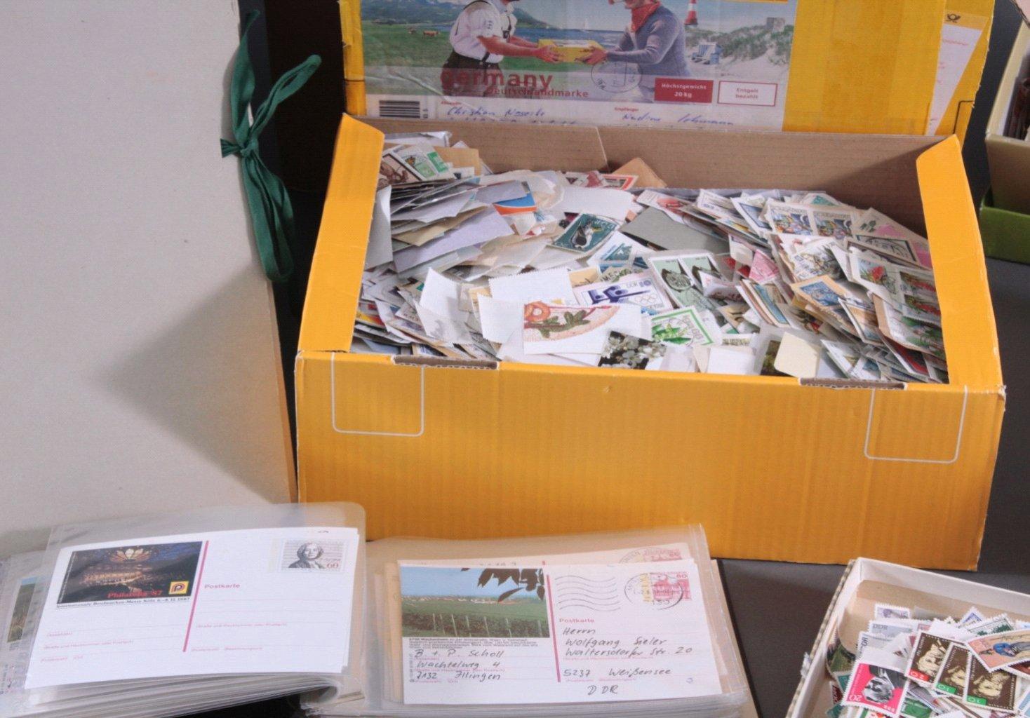 Briefmarken und Belege Nachlass-2